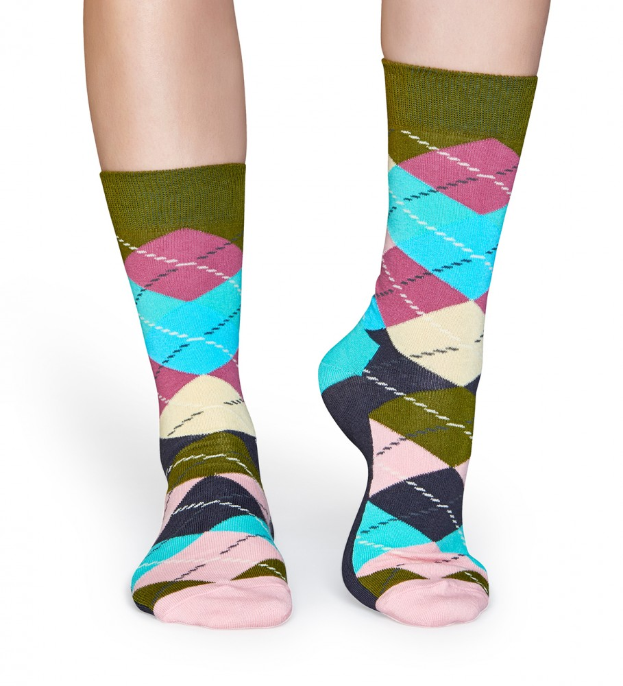 Mr. Gugu & Miss Go, Argyle socks Image $i
