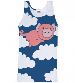 Mr. Gugu & Miss Go, Flying Pigs tank-top Thumbnail $i
