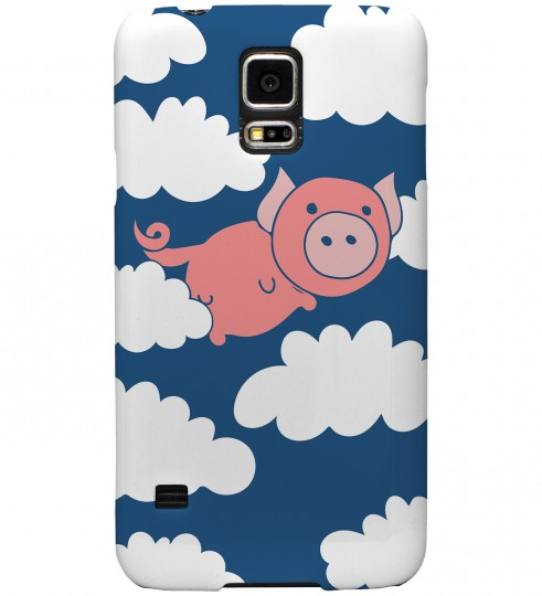 Flying Pigs phone case Thumbnail 1