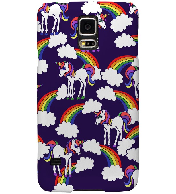 Rainbow Unicorns phone case Miniature 1