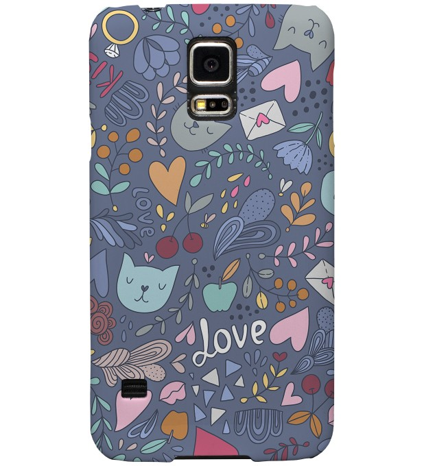 Romantic Cats phone case Miniature 1
