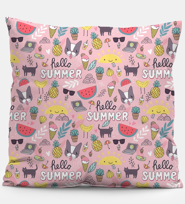 Sweet summer pillow Miniature 1
