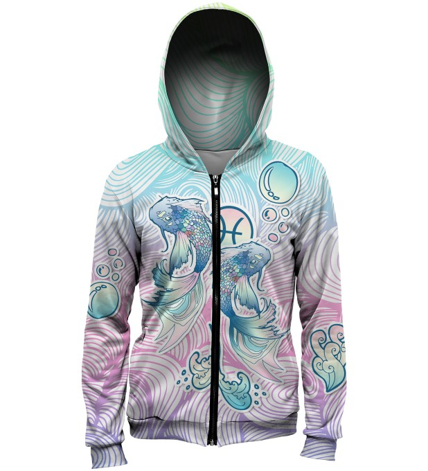 Pisces Zip Up Hoodie аватар 1