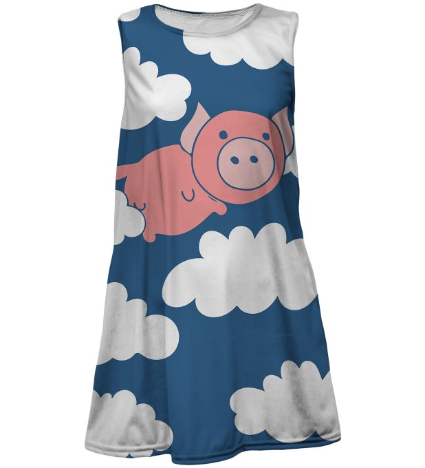 Flying Pigs summer dress for kids Thumbnail 1