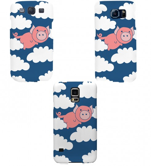 Flying Pigs phone case Thumbnail 2