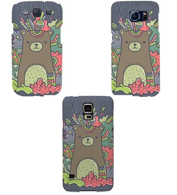 Sweet Bear phone case Miniature 2
