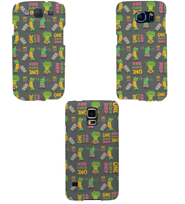 Vegetables Power phone case Miniature 2