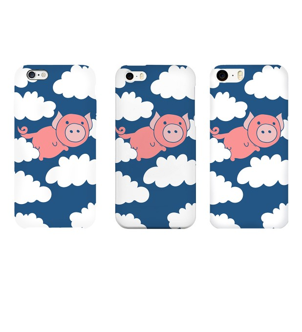 Flying Pigs phone case Miniature 2