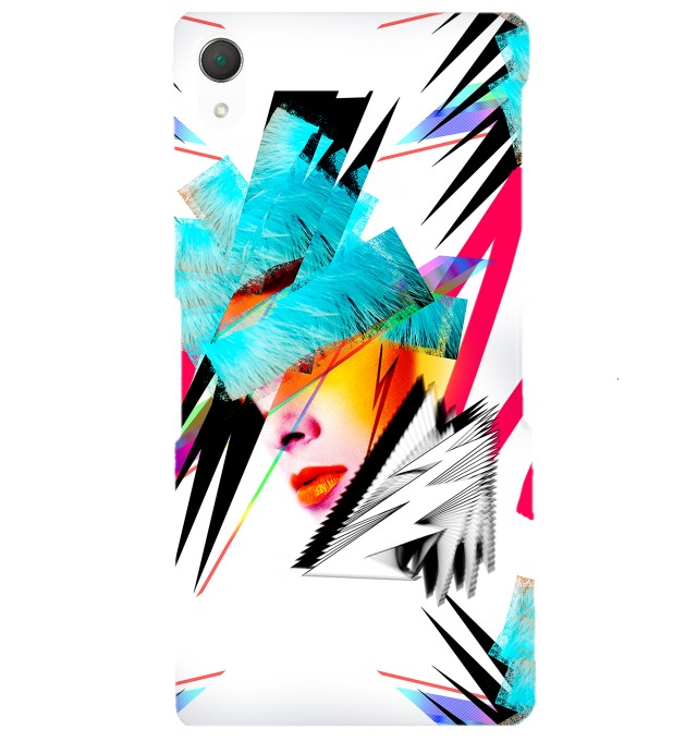 Pop-art Face phone case Miniature 1