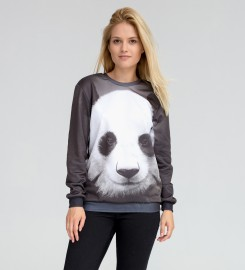 Mr. Gugu & Miss Go, Panda sweater Thumbnail $i