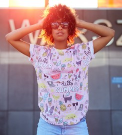 Mr. Gugu & Miss Go, Sweet summer t-shirt Miniatura $i