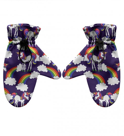 Rainbow Unicorns gloves Thumbnail 1