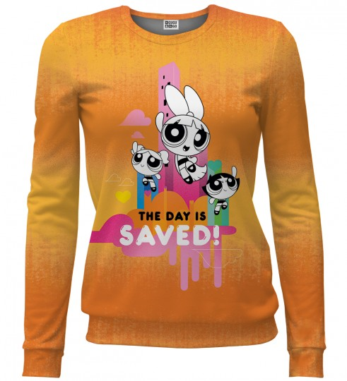 Bluza ze wzorem Save the day Miniatury 1