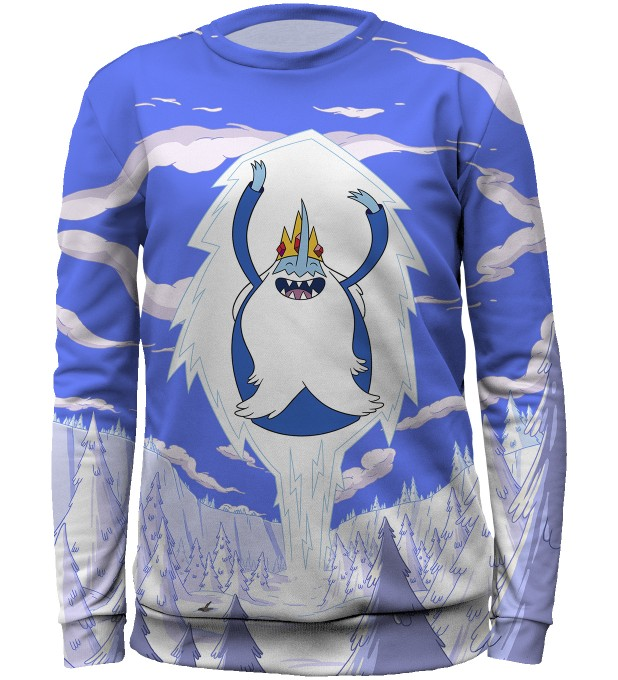 Ice King Attack sweater for kids Thumbnail 1