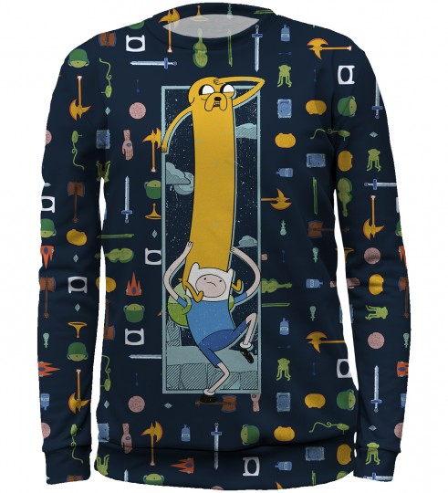 Finn&Jake equipment sweater for kids Miniatura 1