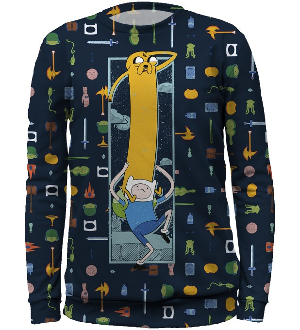 Finn&Jake equipment sweater for kids аватар 1