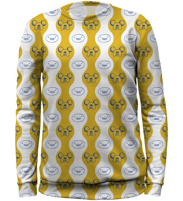 Finn&Jake Smile sweater for kids Miniature 1