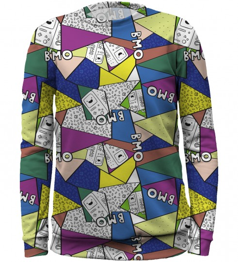 BMO Triangles sweater for kids Miniatura 1