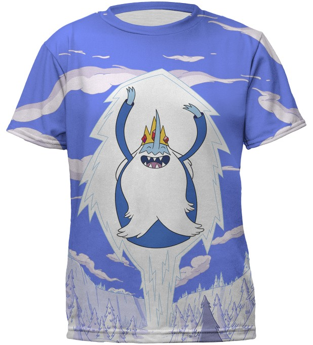Ice King Attack t-shirt for kids Miniatura 1