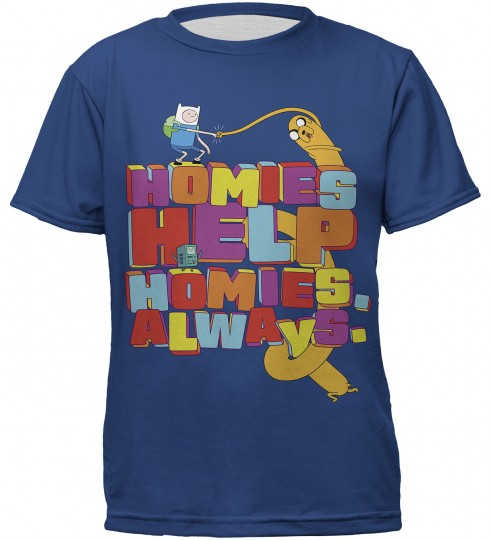 Homie Help t-shirt for kids Thumbnail 1