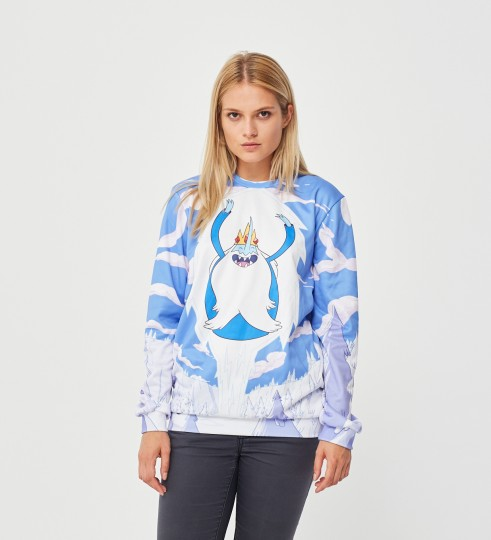 Ice King Attack sweater Thumbnail 2