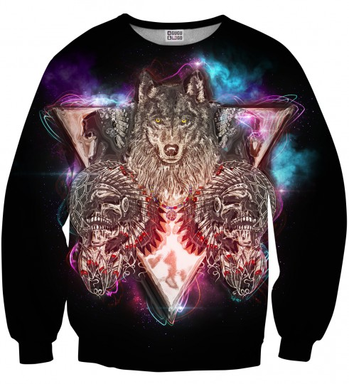 Indian Wolfpack sweater Thumbnail 1