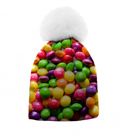 Sweets beanie for kids Thumbnail 1
