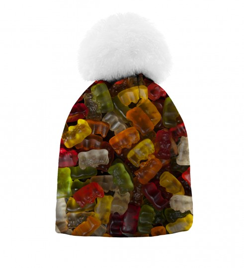 Gummy Bears beanie for kids Thumbnail 1