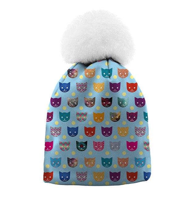 Funny Cats beanie for kids аватар 1