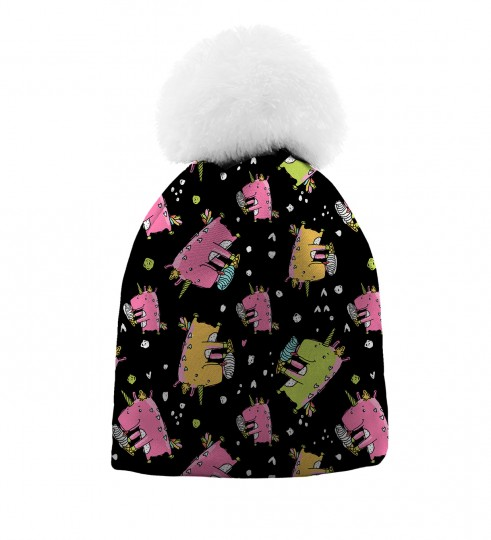 Dinocorns beanie for kids Thumbnail 1