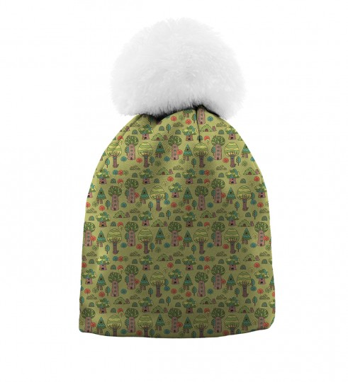 Hundre Acre Wood beanie for kids Thumbnail 1