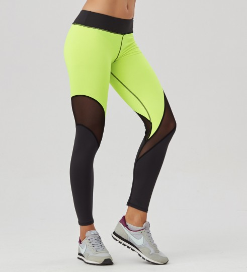 Green Fluo leggings Thumbnail 1
