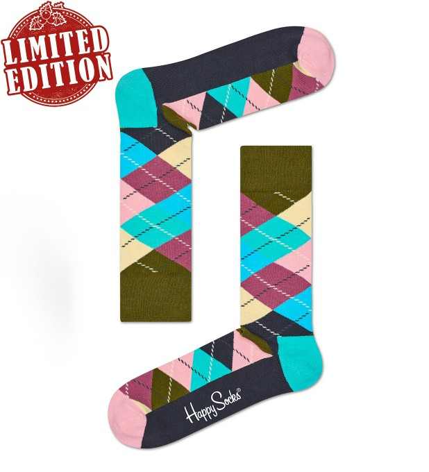 Argyle socks Miniature 1