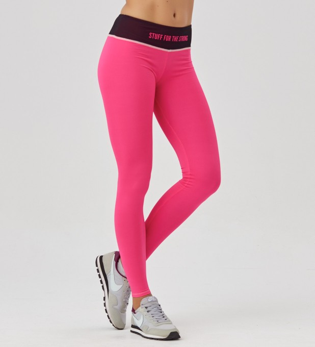 Fluo Pink leggings Miniature 1
