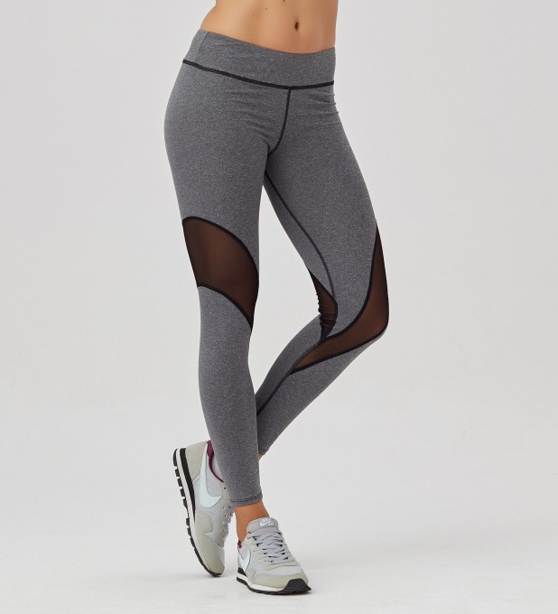 Grey tulle leggings Thumbnail 1