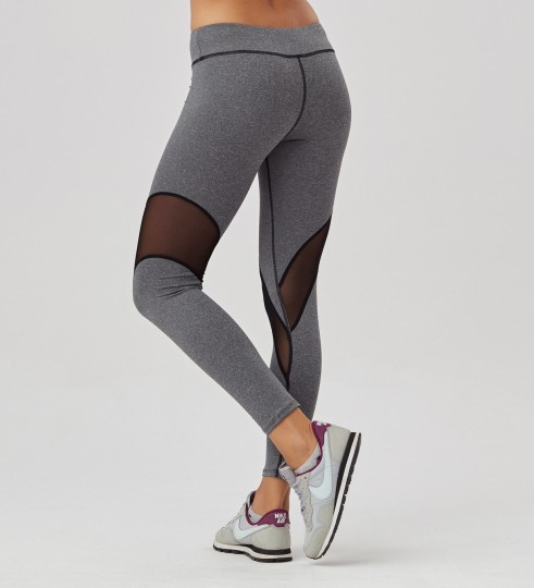 Grey tulle leggings Thumbnail 2