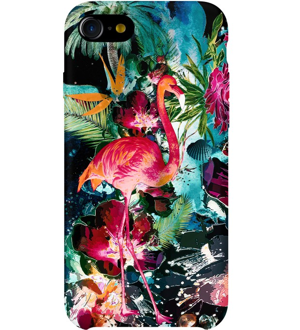 Colorful Flamingo phone case Thumbnail 1
