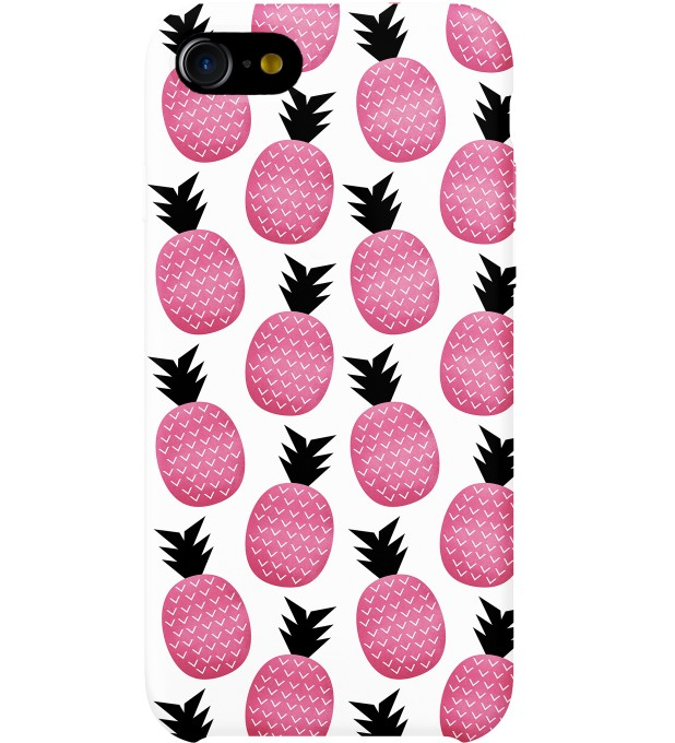 Pink pineapple phone case Thumbnail 1