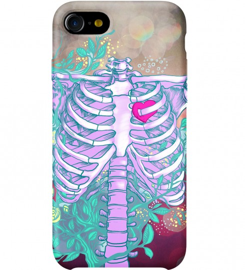 Heart in chest phone case Thumbnail 1