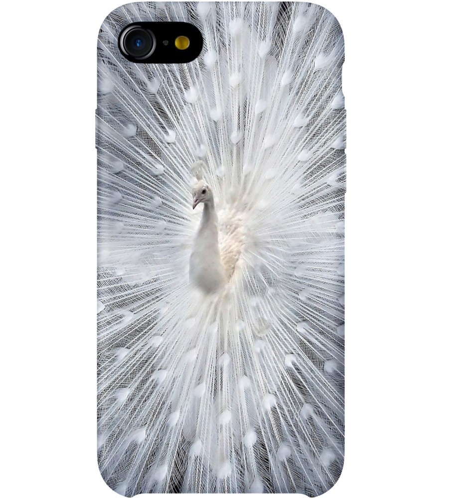 Mr. Gugu & Miss Go, White Peacock phone case Фотография $i