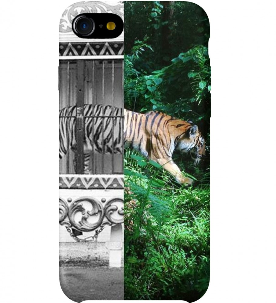 Mr. Gugu & Miss Go, Tiger Cage phone case Фотография $i