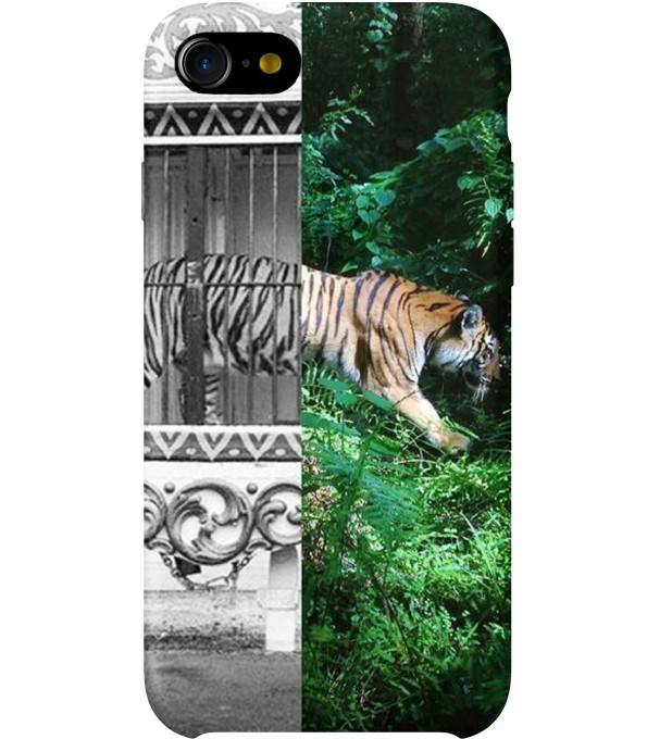 Tiger Cage phone case Thumbnail 1