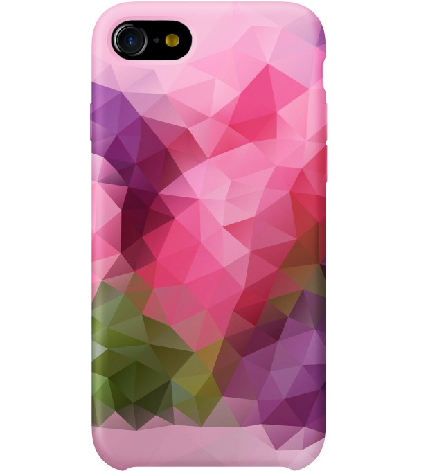 Violet Geometric phone case Thumbnail 1