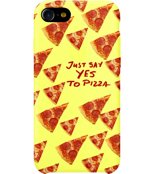 Yes to pizza phone case Thumbnail 1