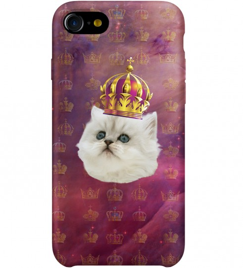 King cat phone case Thumbnail 1