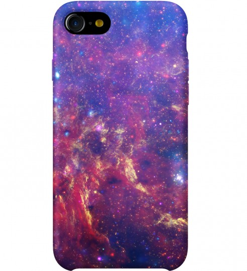 Purple Nebula phone case Miniature 1