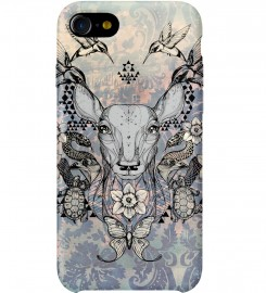 Deer Colage phone case Thumbnail 1