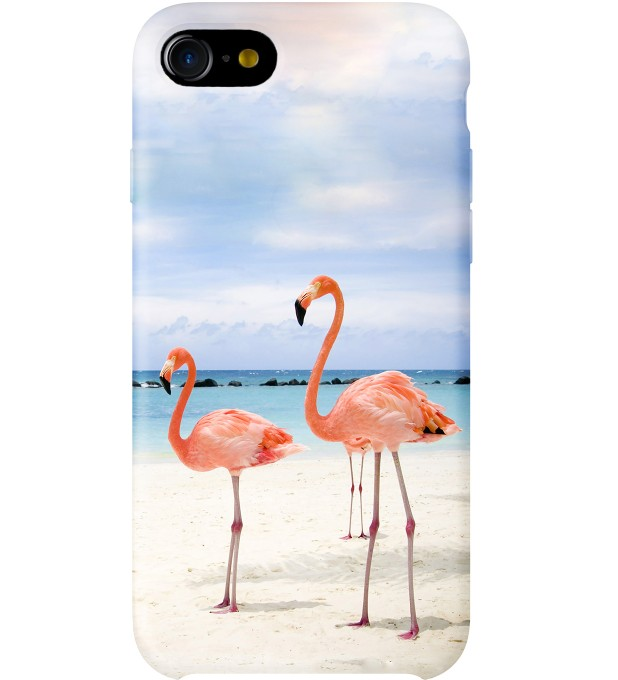 Flamingos On The Beach phone case аватар 1