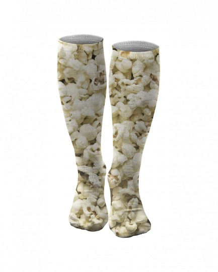 Popcorn knee socks Thumbnail 1