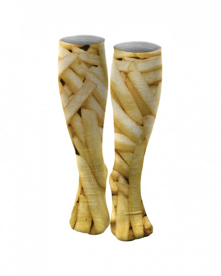 Fries knee socks Thumbnail 1
